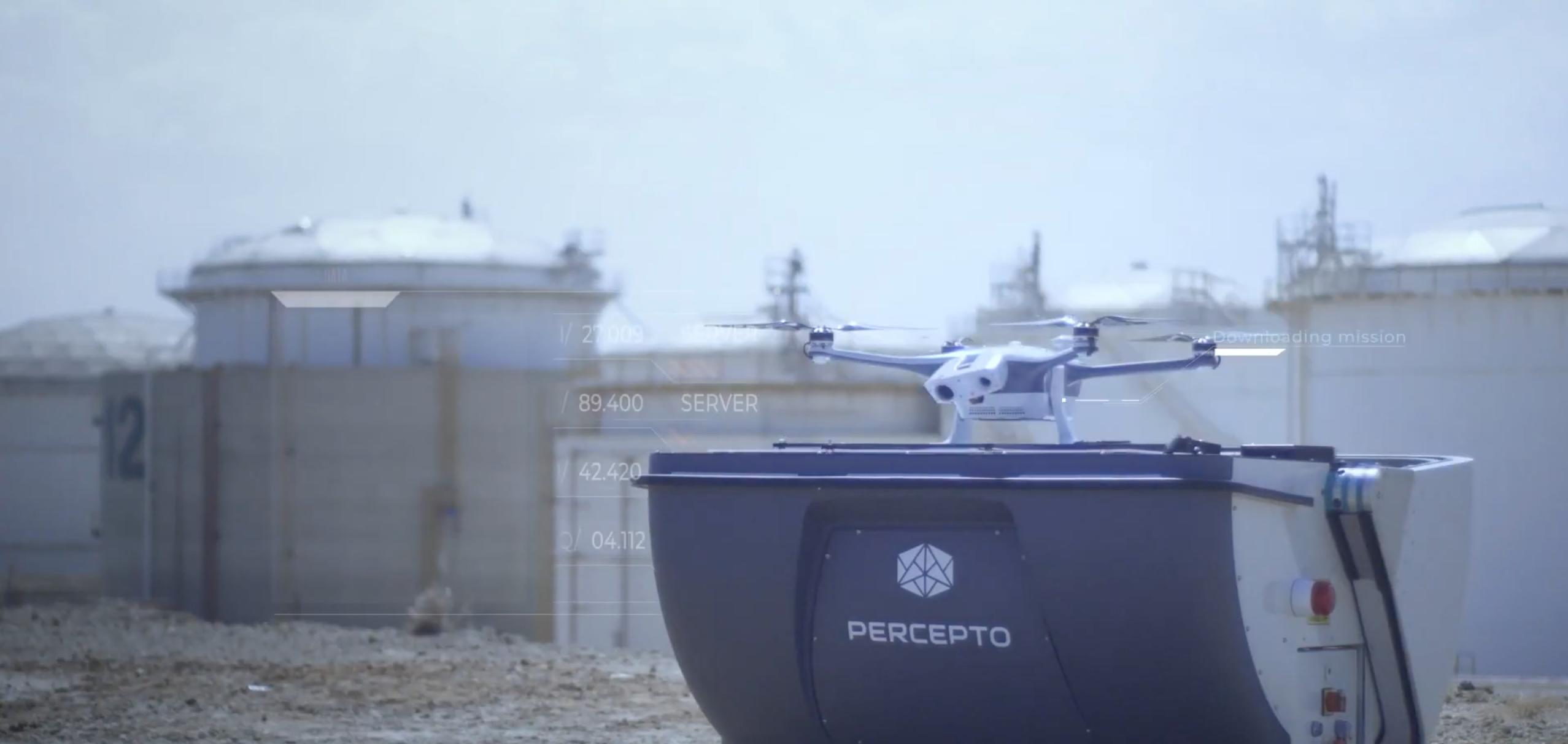 Le Sparrow 1 est le drone de Percepto.