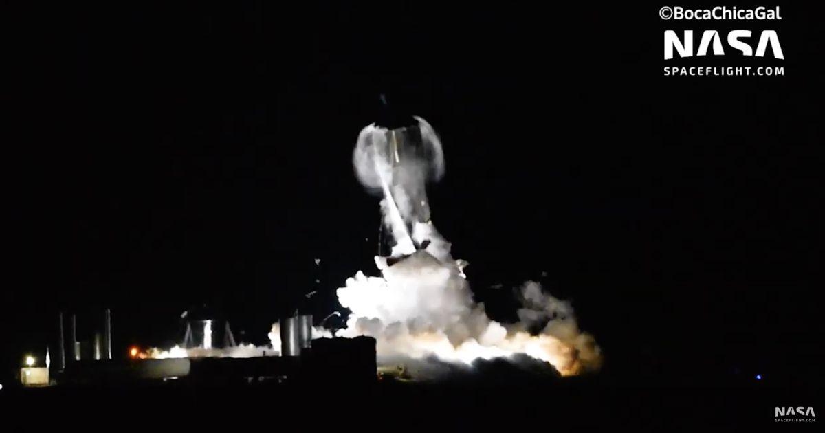 SpaceX : le vaisseau Starship a implosé au cours d'un test