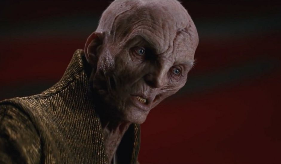 Snoke dans la saga Star Wars