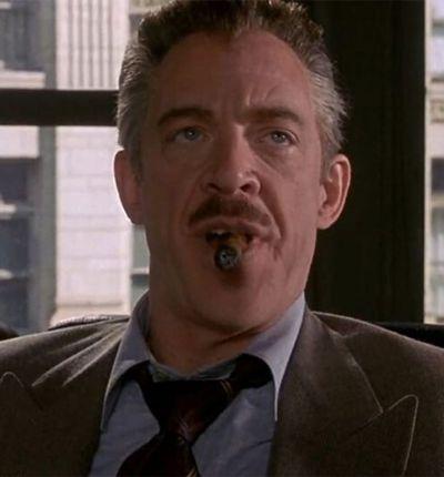 J.K. Simmons dans la trilogie Spider-Man de Sam Raimi