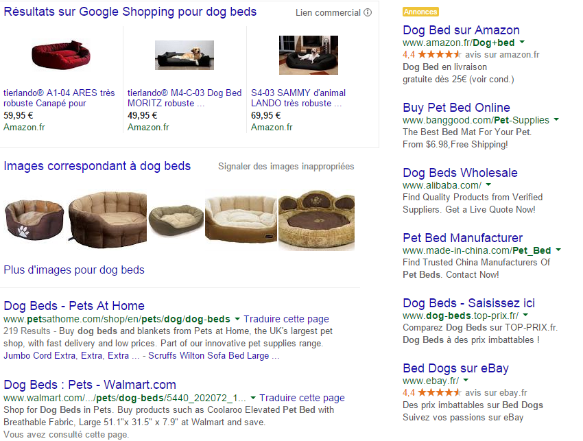 Exemple_SERP_Dog_Beds