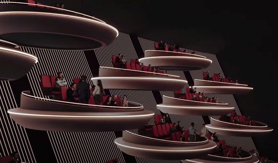 Ōma Cinema concept salle obscure