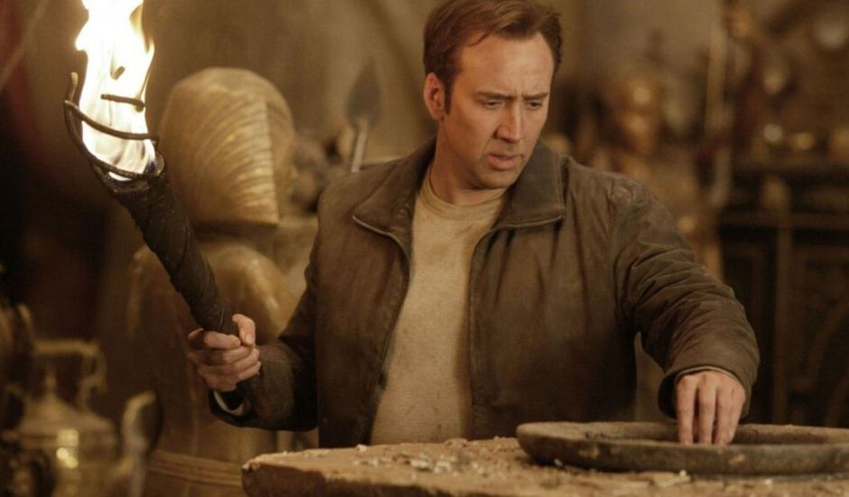 benjamin gates national treasure disney nicolas cage