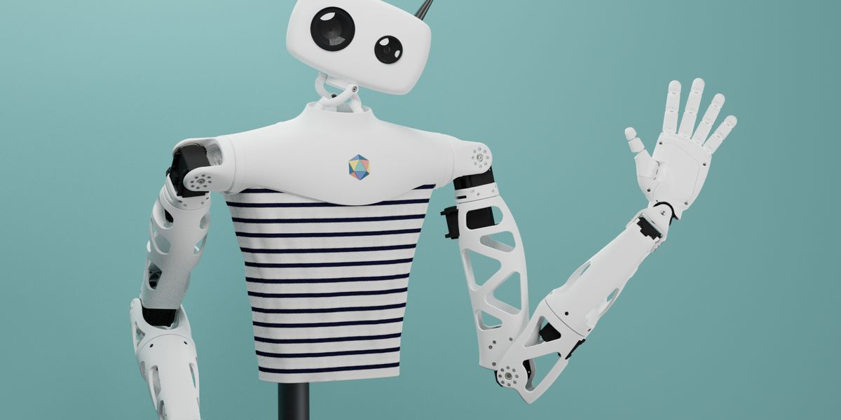 Découvrez Reachy : le robot français et open source présenté au CES 2020