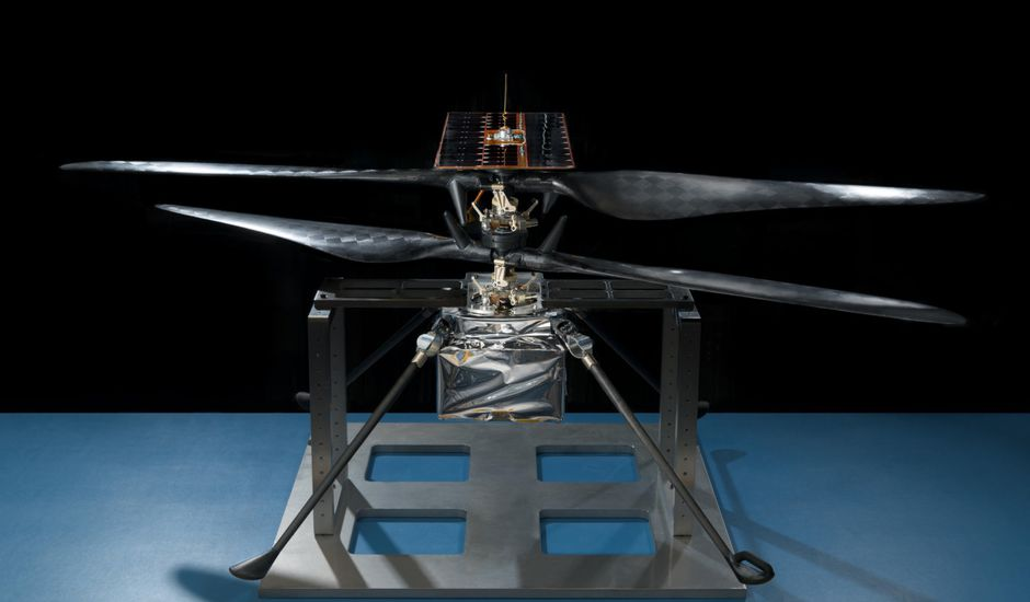 L'hélicoptère martien de la NASA est prêt à vrombir sur Mars