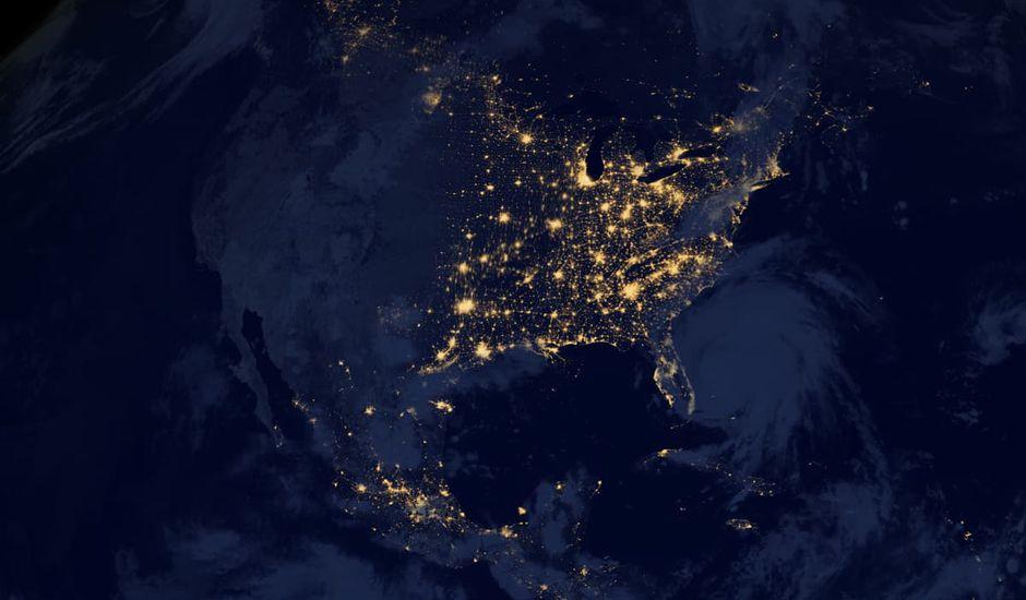 États-Unis blackout