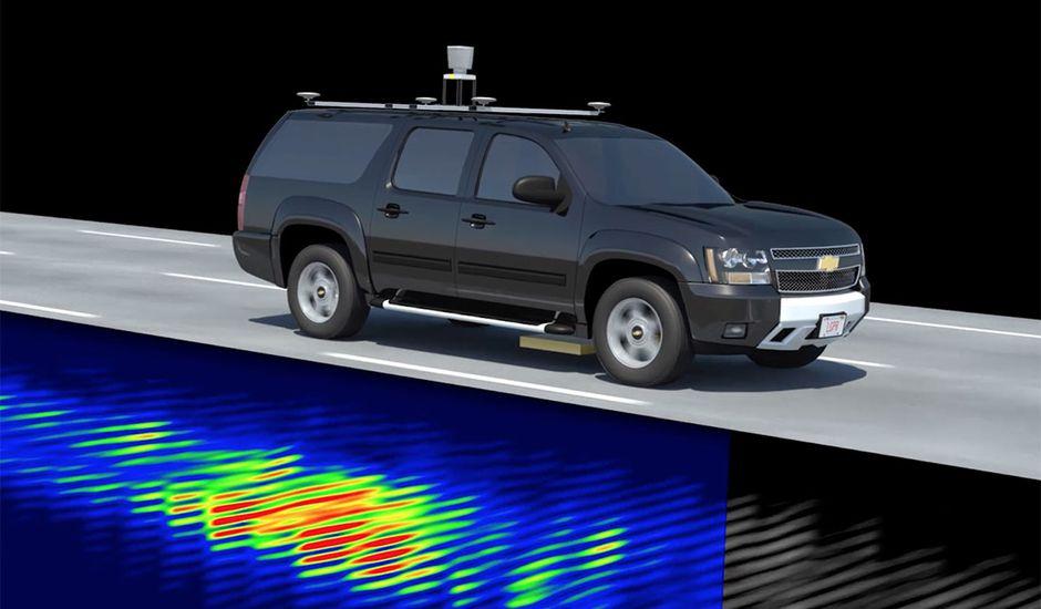 Des voitures autonomes utilisant un système de RPS pour naviguer.