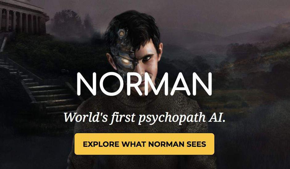 Norman la 1ère IA psychopathe entrainé à partir d'images de Reddit