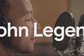John Legend enregistrement pour Google