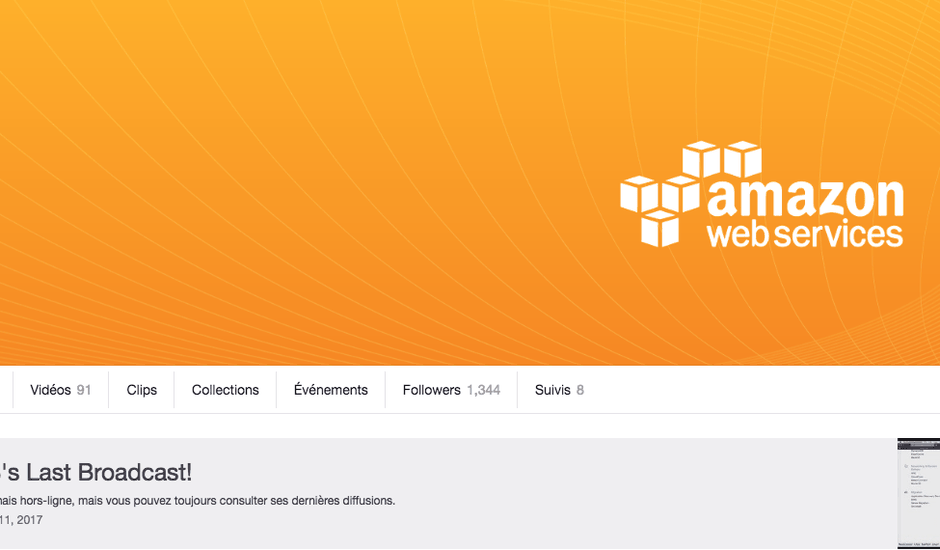 Amazon Web Services Twitch