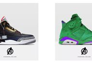 Des sneakers Avengers