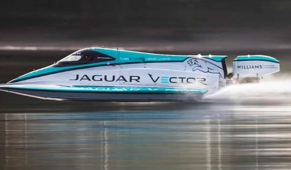 record vieux de 10 ans battu par le V20E de Jaguar