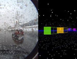 Les véhicules autonomes peuvent rouler sous la neige.
