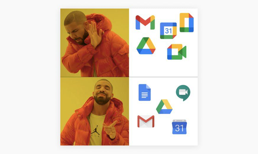 Google Icons avant/apr§s