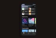 nouvel écran d'accueil de Spotify