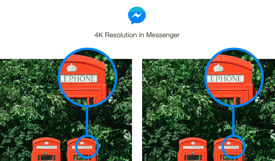 Facebook Messenger 4K