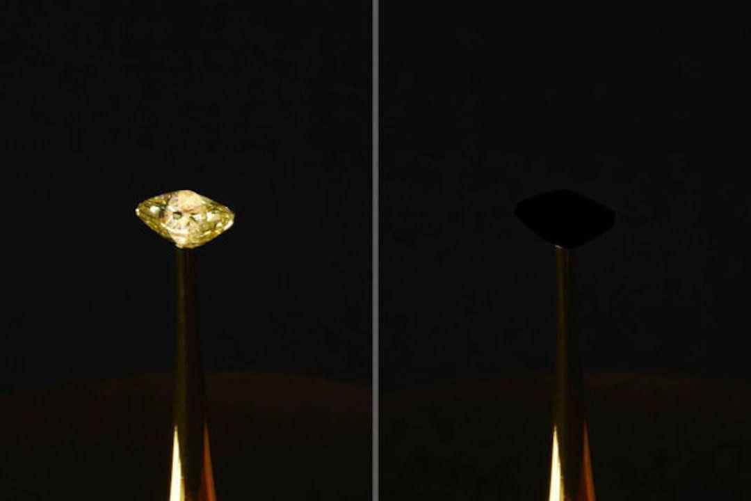 MIT : des chercheurs créent accidentellement le noir le plus profond jamais vu