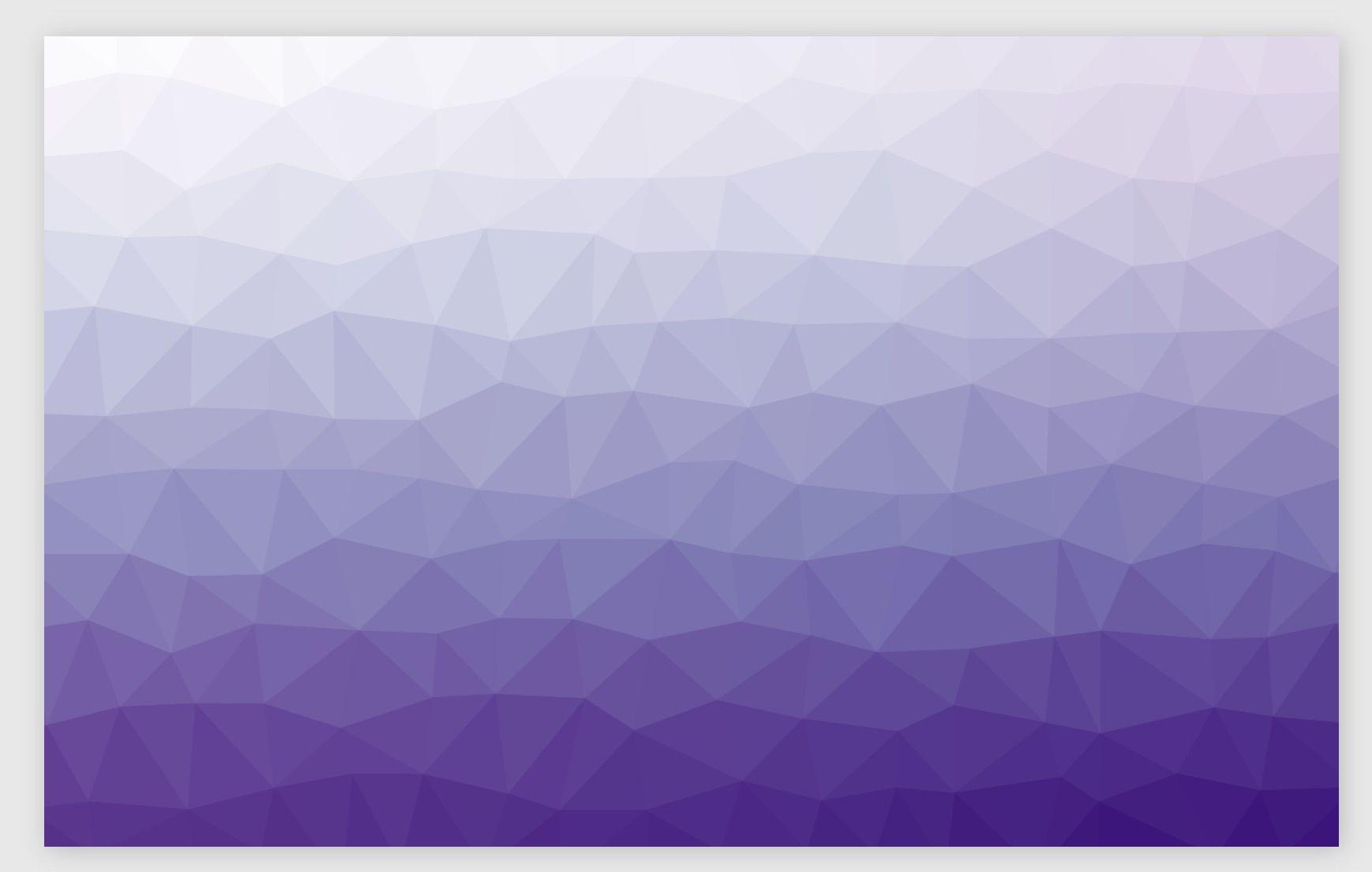 exemple d'arrière-plan généré avec Trianglify
