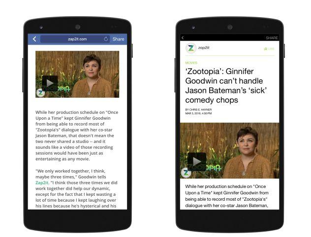 Le plugin WordPress pour Instant Articles reconnait aussi les lecteurs de vidéo tiers. Cela évitera notamment que Facebook masque des vidéos qui ne sont pas hébergées sur son réseau social.