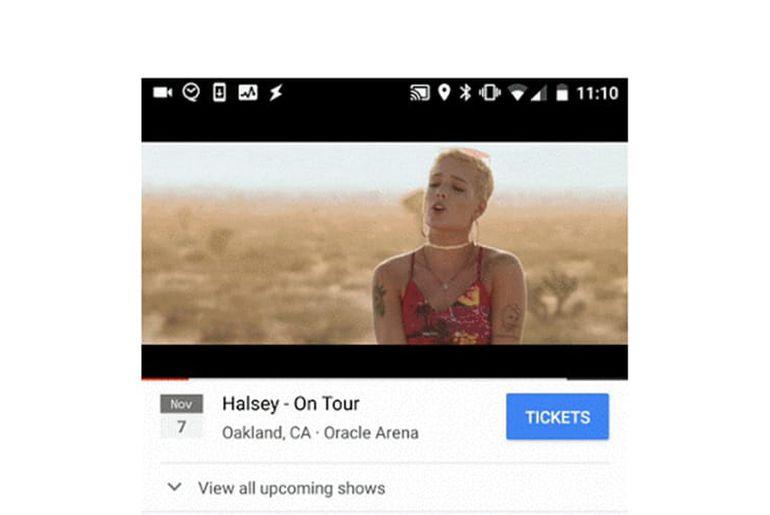 youtube teste la vente de billets de concert