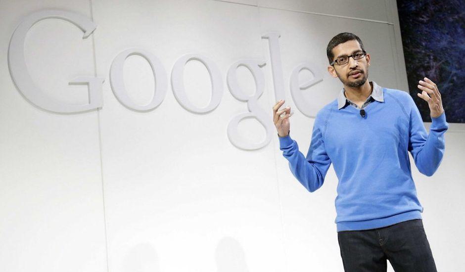 PDG Google Sundar Pichai