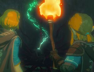Zelda et Link dans Breath of the Wild 2