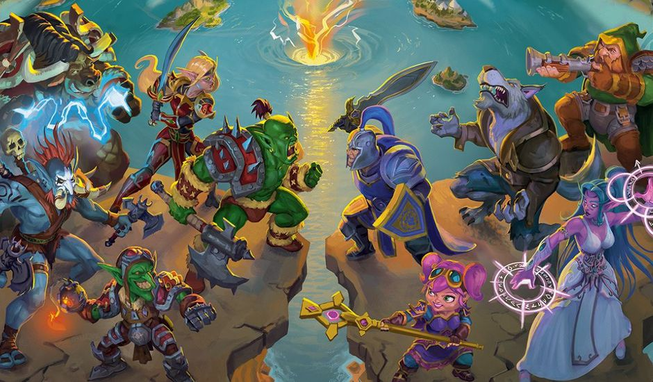 Visuel du jeu de société Small World of Warcraft