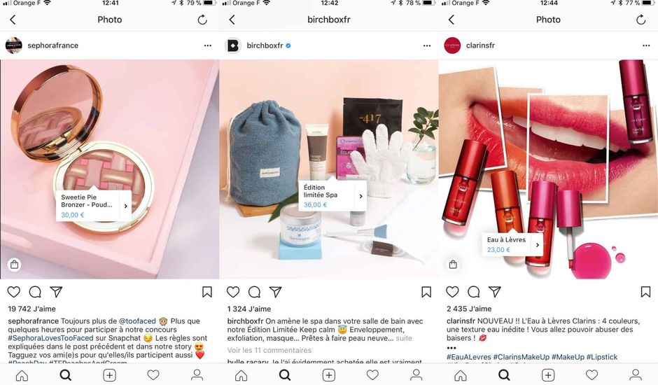 shopping instagram france