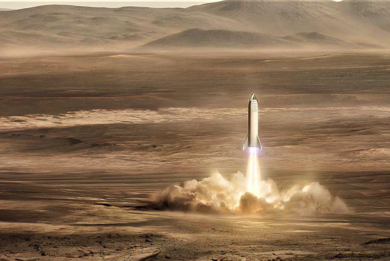 Mars Base Alpha SpaceX
