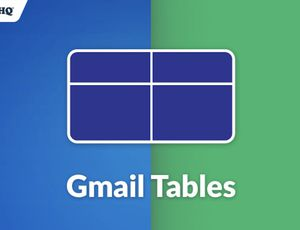 Gmail Tables