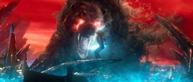 Ours Démon dans Les Nouveaux Mutants