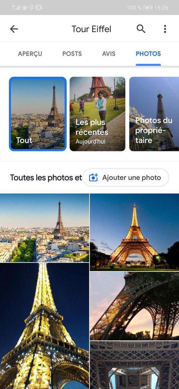 Google Maps revoit sa section photos