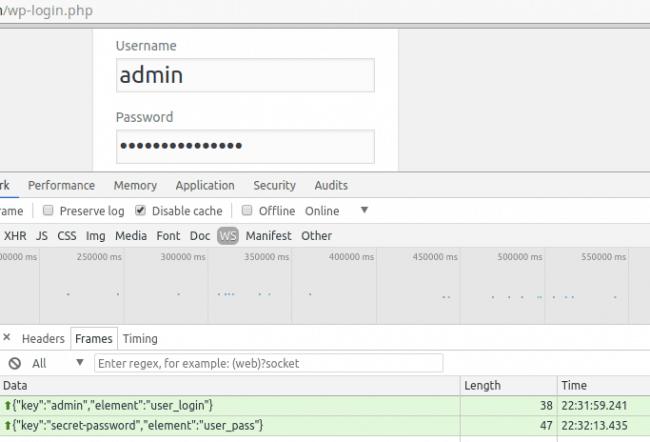 Wordpress script example