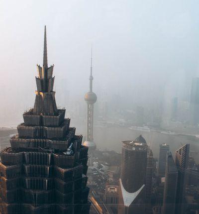 Aperçu d'une ville chinoise.