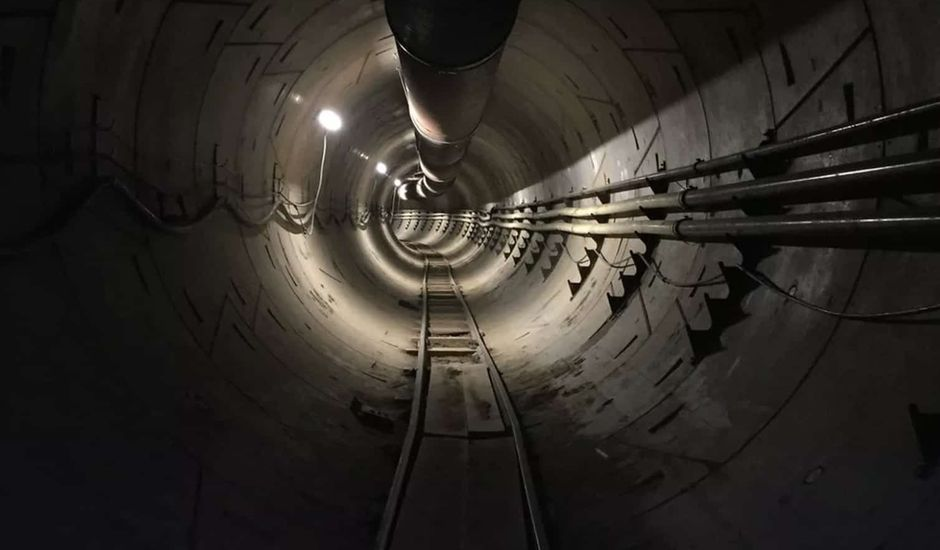 tunnels The Boring Company