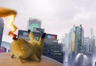 détective pikachu pokémon attaque éclair tonnerre