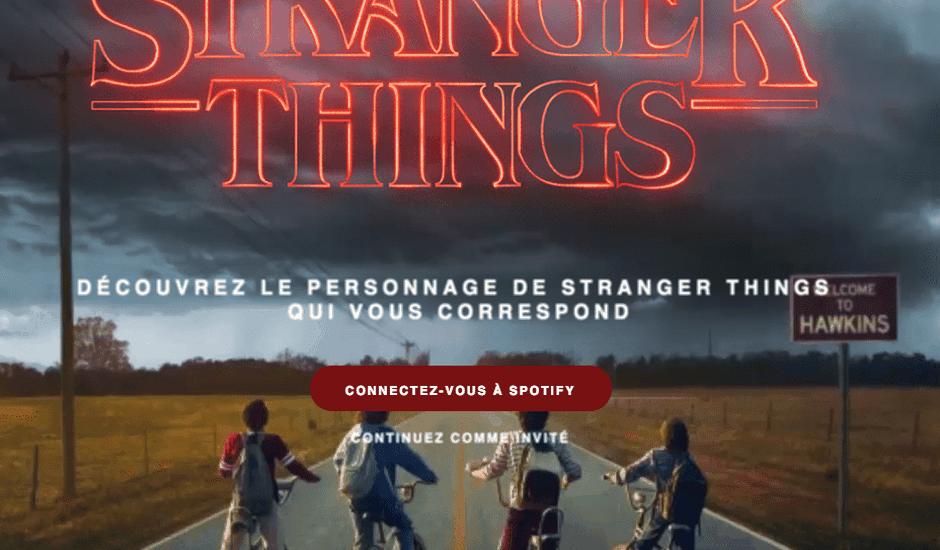 Stranger Things playlist