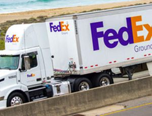 FedEx et amazon