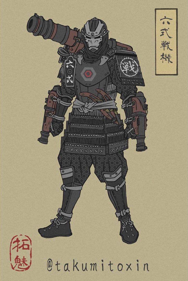 war machine artworks ukyo-e