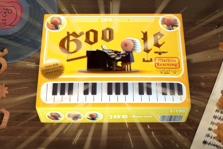 Google rend hommage à Bach