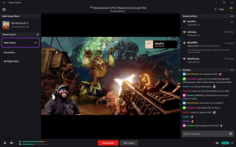 Twitch Studio 2019