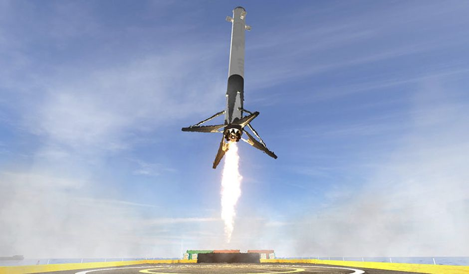 simulation jeu app mobile spacex