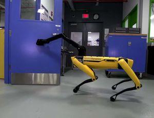 Le robot SpotMini de Boston Dynamics