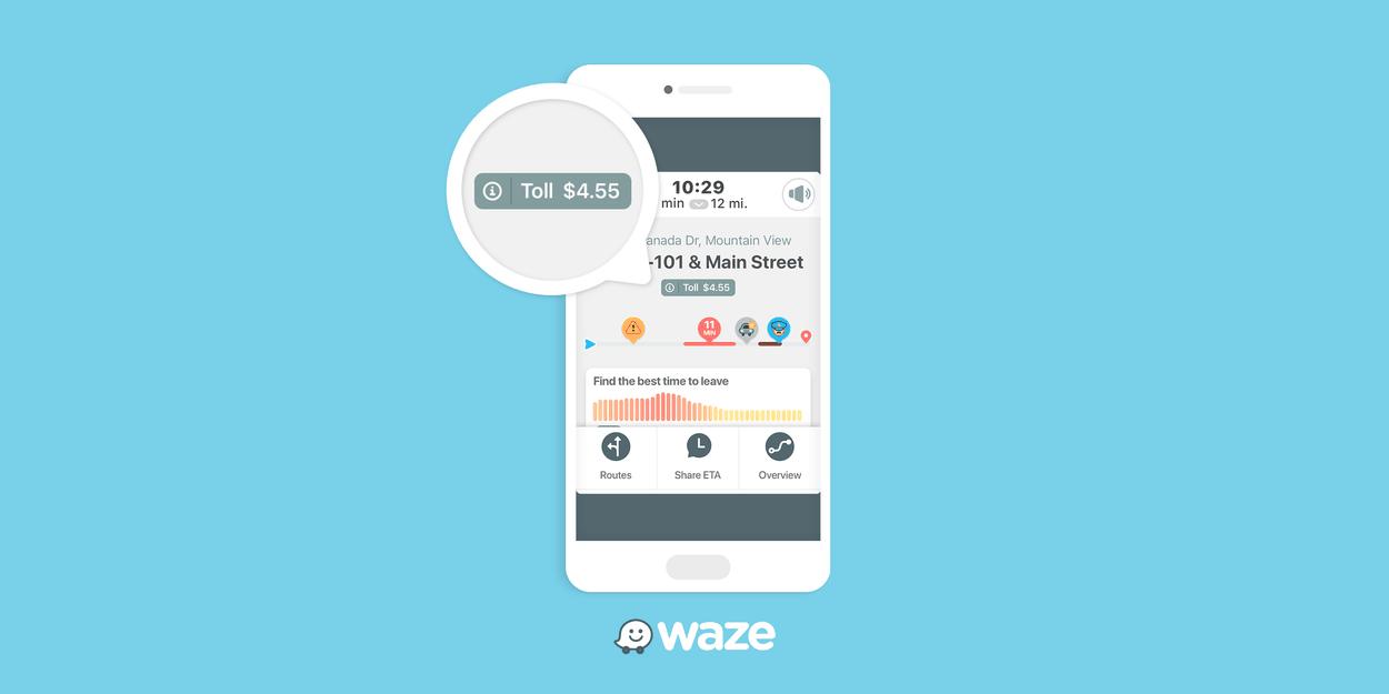 Waze indique désormais le prix des péages durant votre trajet