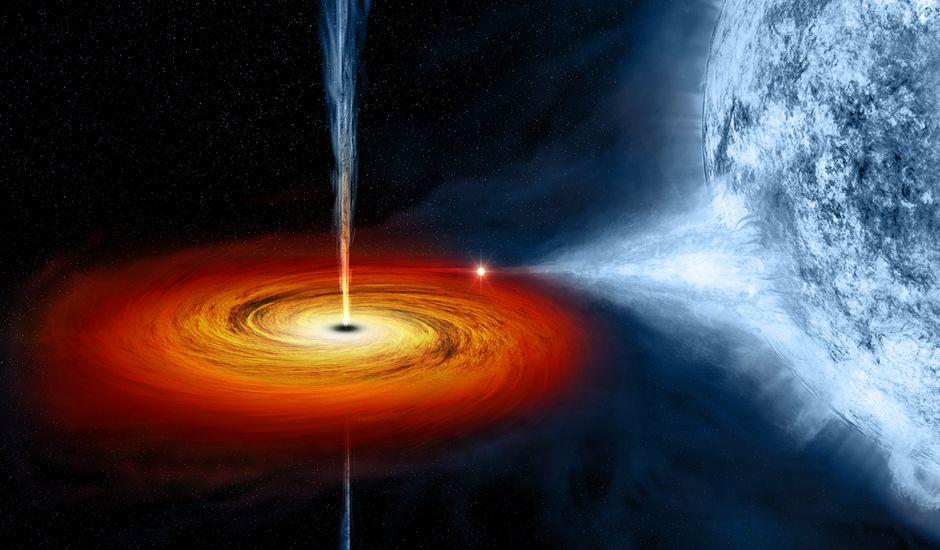 Un trou noir stellaire