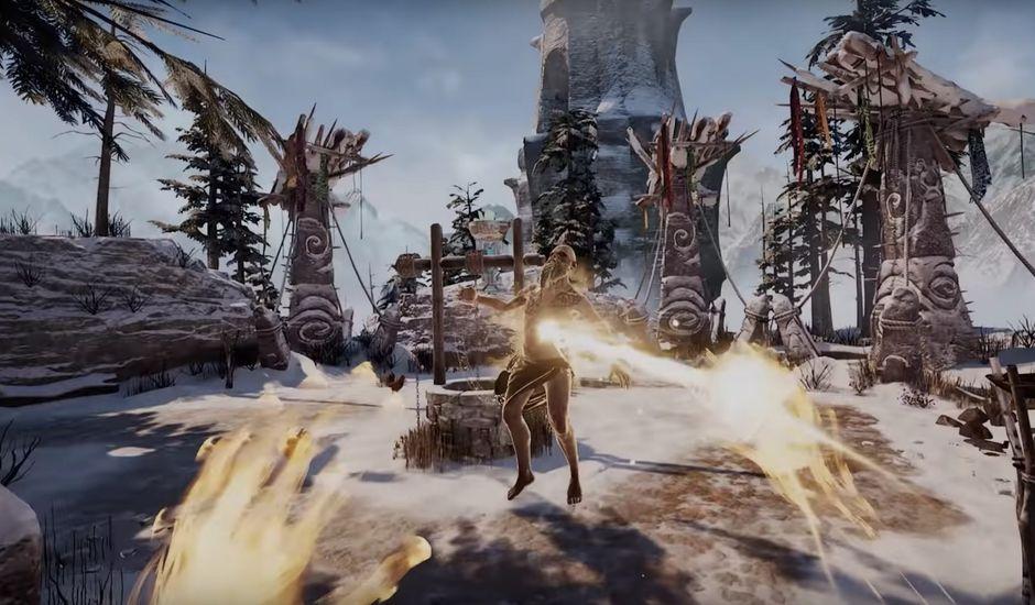 Le jeu Asgard's Wrath a été développé par Sanzaru Games.
