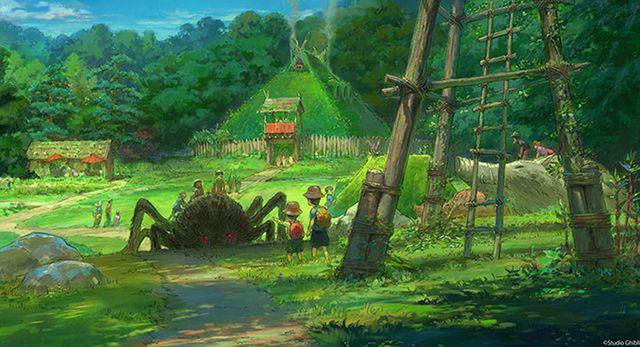 illustration de la zone kiki la petite sorcière