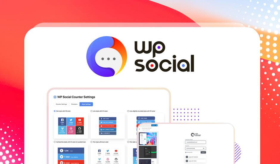 présentation WP Social