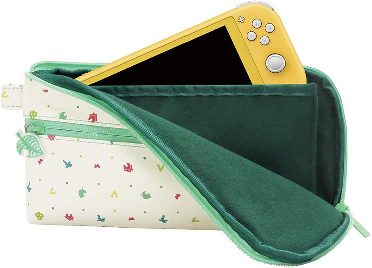 animal crossing pochette rangement switch