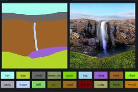 GauGAN, le nouvel outil de Nvidia pour créer des environnements réalistes.
